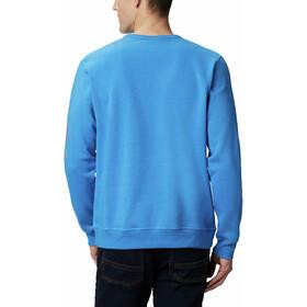 Columbia Logo Suéter Polar Hombre, azure blue/wildfire logo